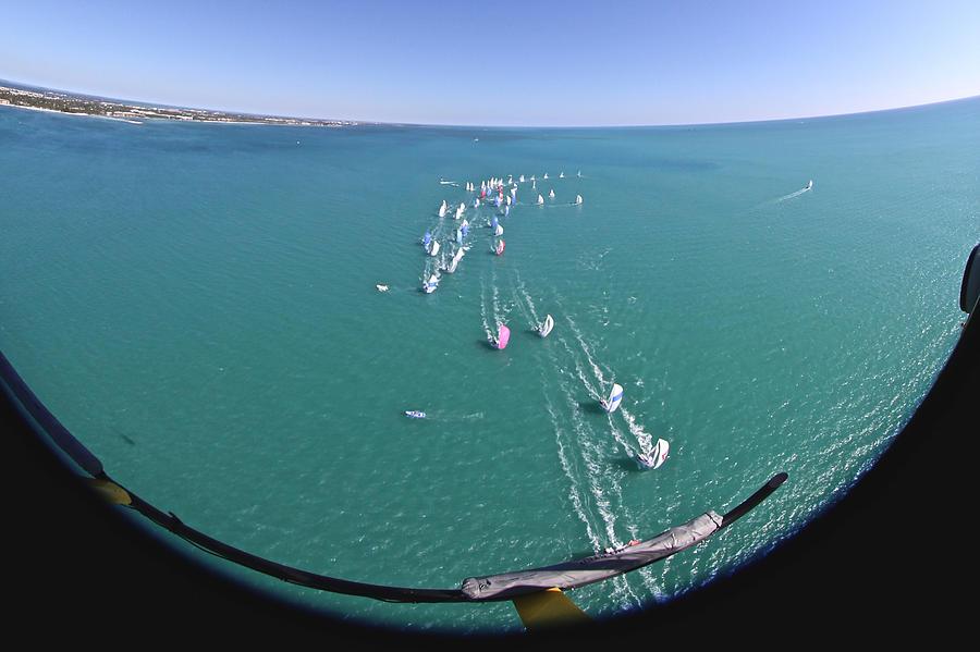 Key West Race Week Aerial Photograph