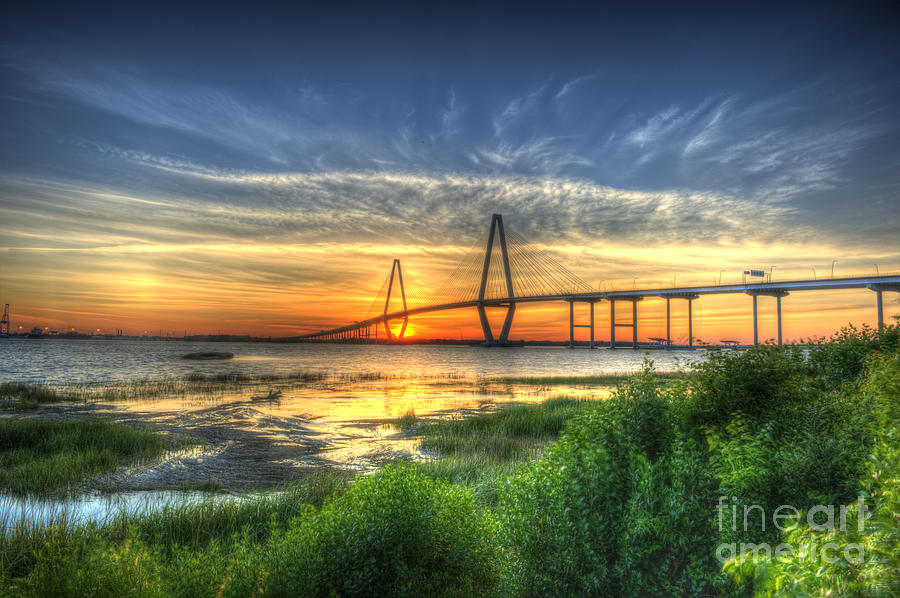 Arthur Ravenel Jr. Photograph - Lowcountry Sunset by Dale Powell