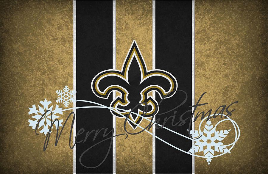 Saints Photograph - New Orleans Saints by Joe Hamilton