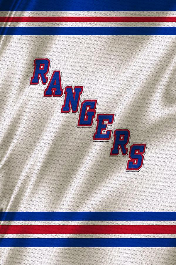 Rangers Photograph - New York Rangers by Joe Hamilton
