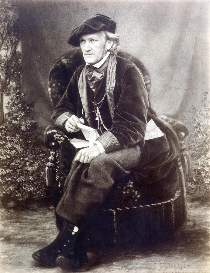 1868 Photograph - Richard Wagner (1813-1883) by Granger