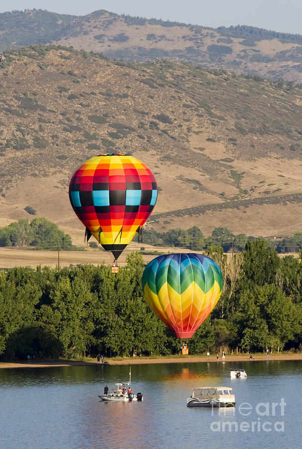 Rocky Mountain Balloon Festival Photograph