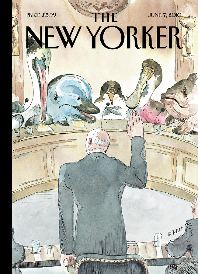 New Yorker June 7th, 2010 Painting by Barry Blitt