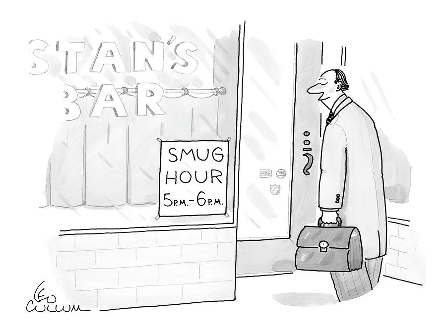 New Yorker July 25th, 2005 Drawing by Leo Cullum