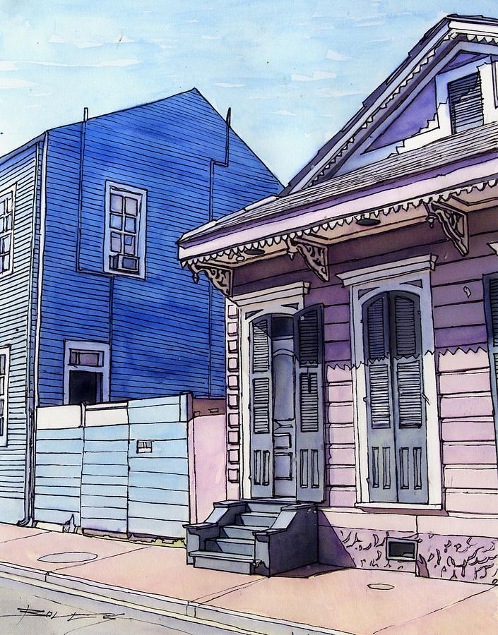 New Orleans Painting - 151 by John Boles