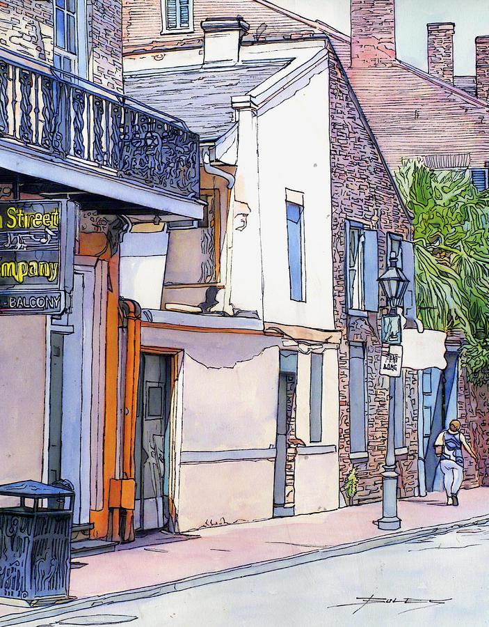 New Orleans Painting - 153 by John Boles