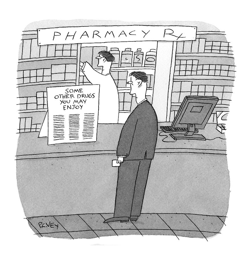 New Yorker May 25th, 2009 Drawing by Peter C. Vey