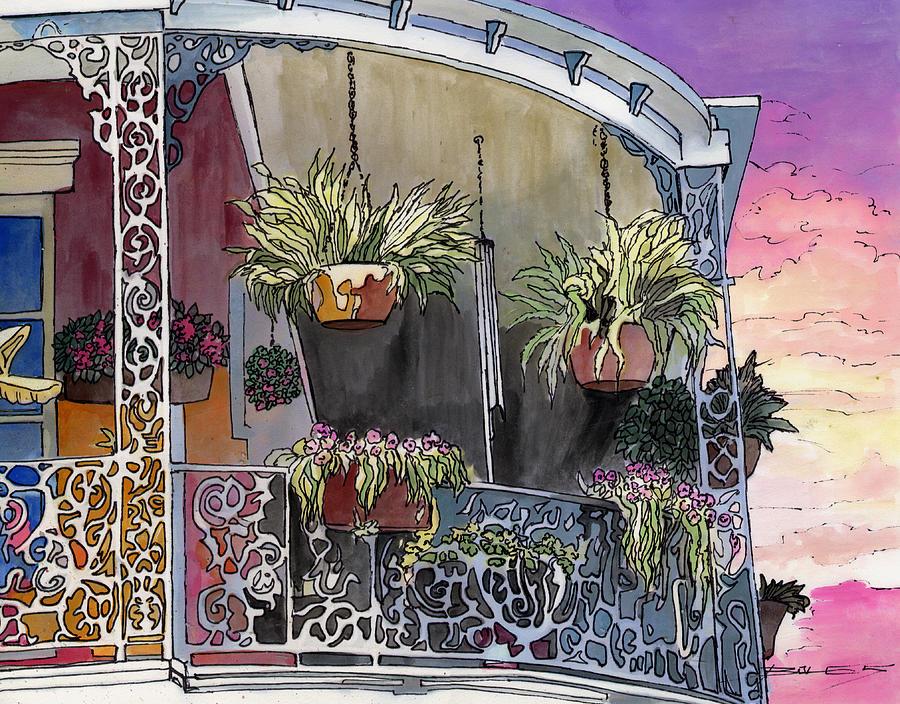 New Orleans Painting - 154 by John Boles