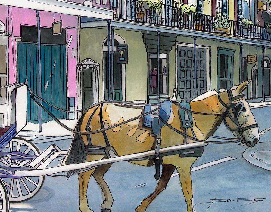 New Orleans Painting - 155 by John Boles