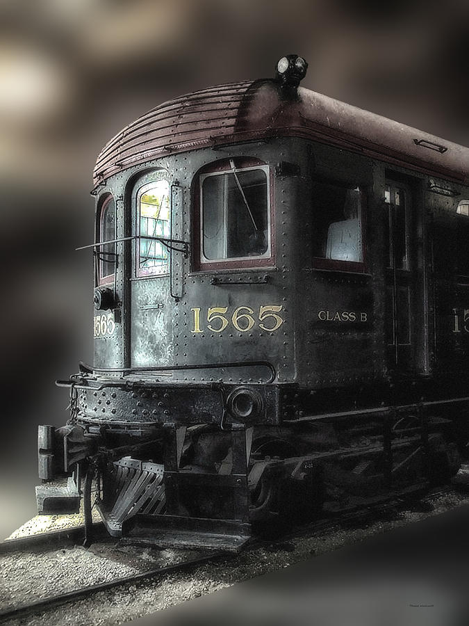 Train Photograph - 1565 Class B Irm by Thomas Woolworth