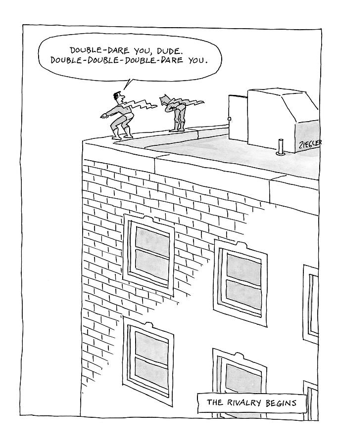 New Yorker August 11th, 2008 Drawing by Jack Ziegler