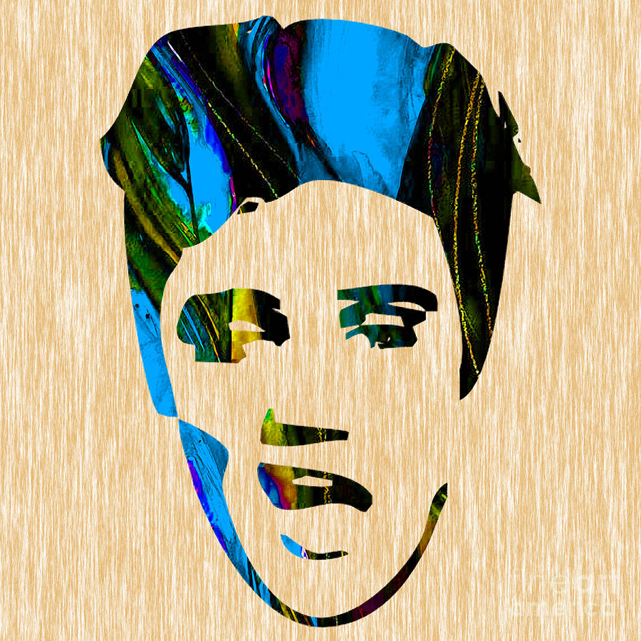 Elvis Presley Mixed Media by Marvin Blaine