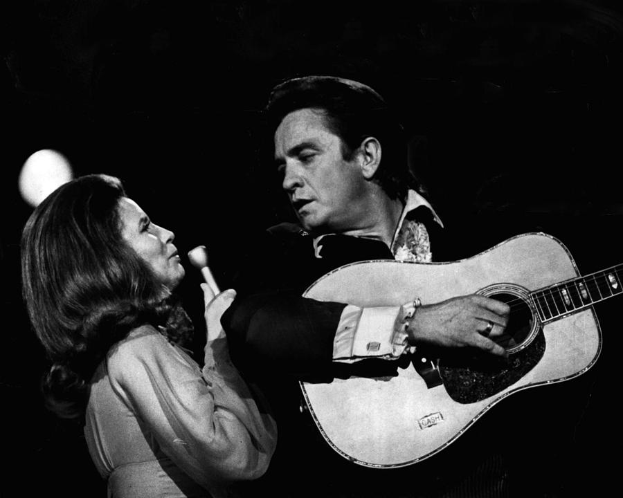Classic Photograph - Johnny Cash by Retro Images Archive