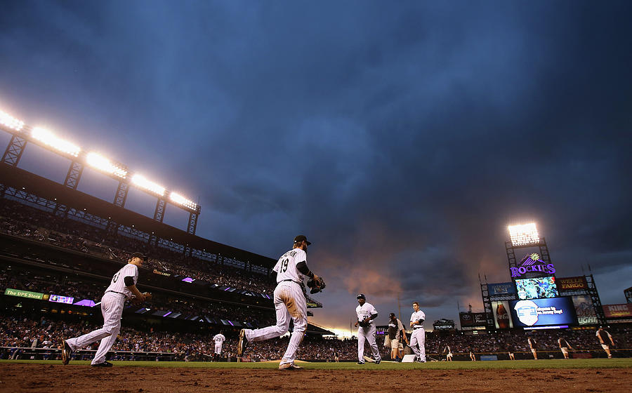 New York Mets V Colorado Rockies Photograph by Doug Pensinger