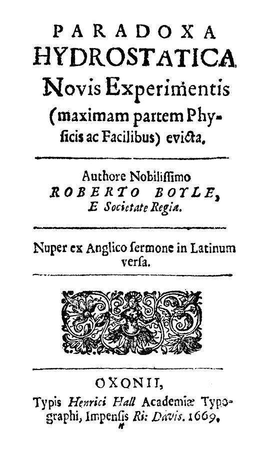 1669 Painting - Robert Boyle (1627-1691) by Granger