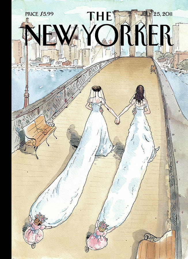 New Yorker July 25th, 2011 Painting by Barry Blitt