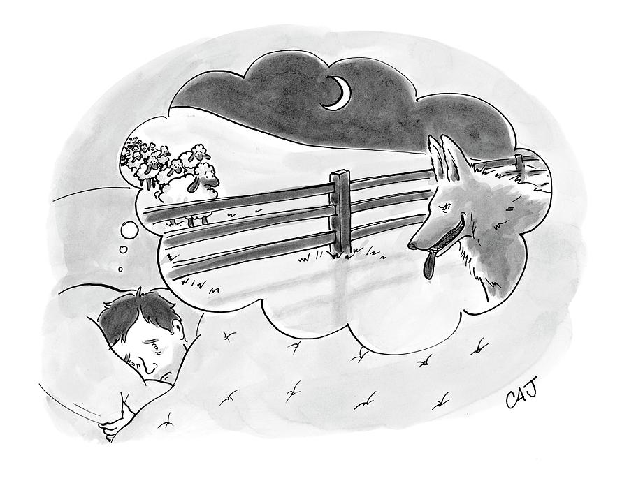 New Yorker April 2nd, 2007 Drawing by Carolita Johnson