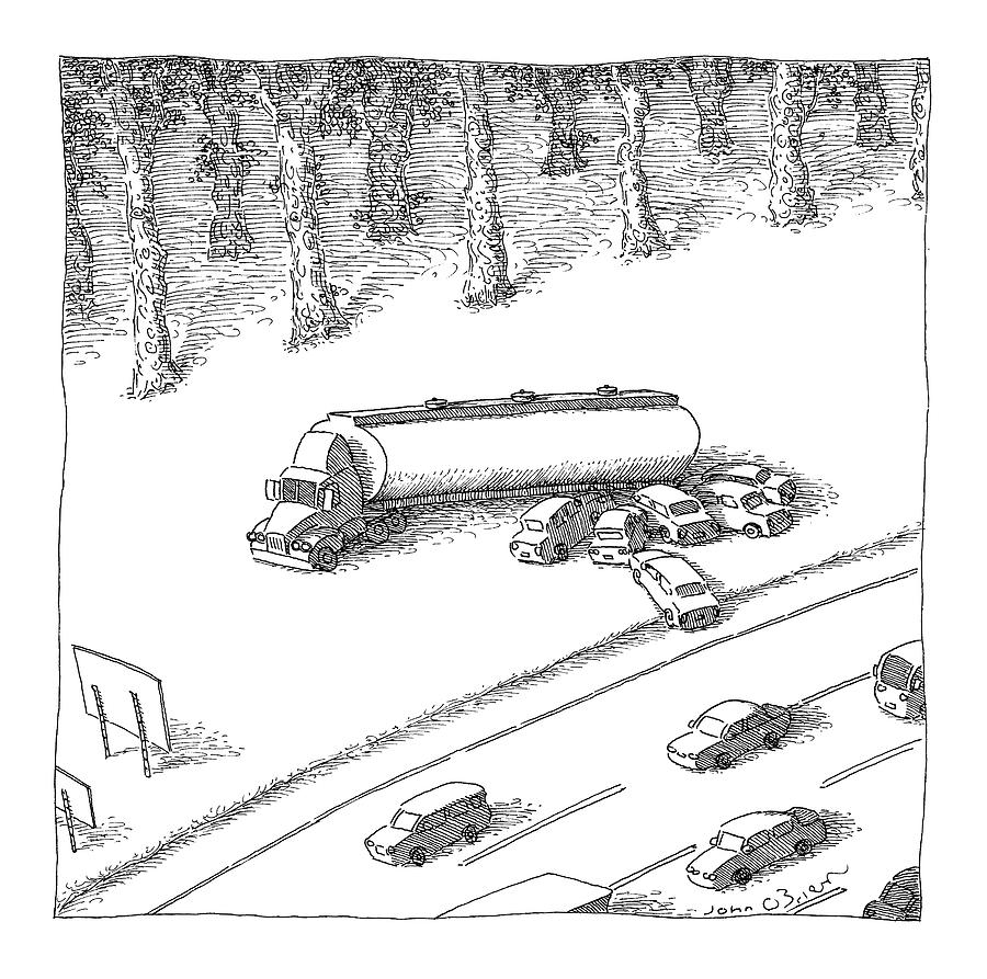 New Yorker June 12th, 2006 Drawing by John OBrien
