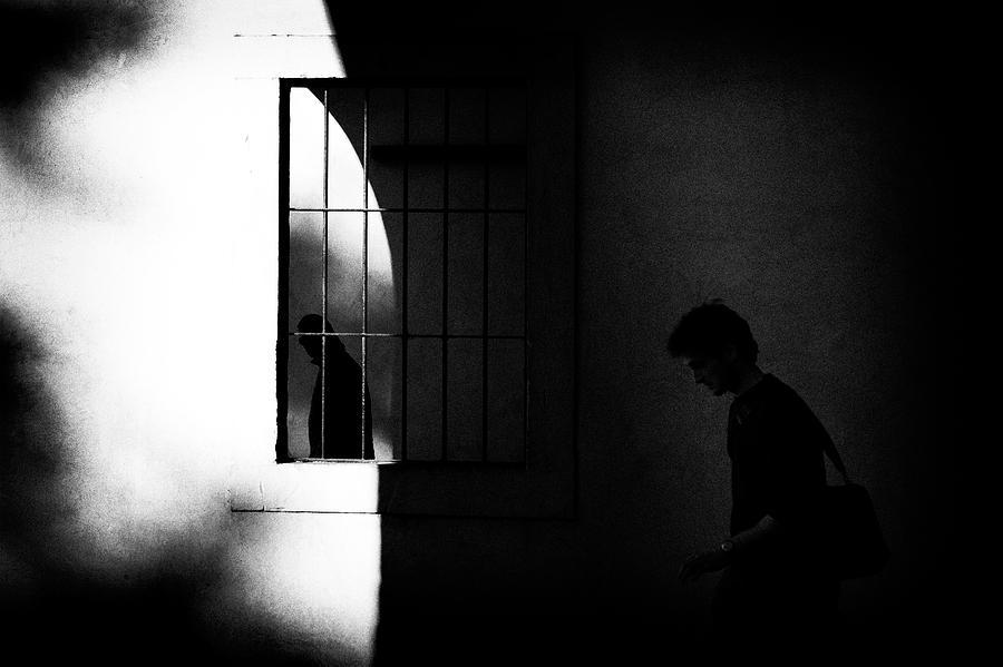 Window Photograph - Untitled by Massimo Della Latta