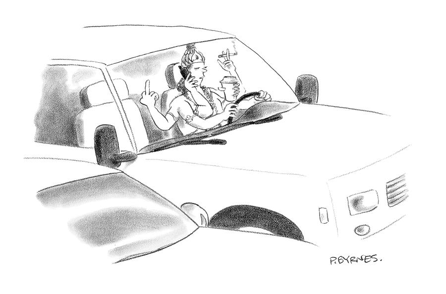 New Yorker January 8th, 2007 Drawing by Pat Byrnes
