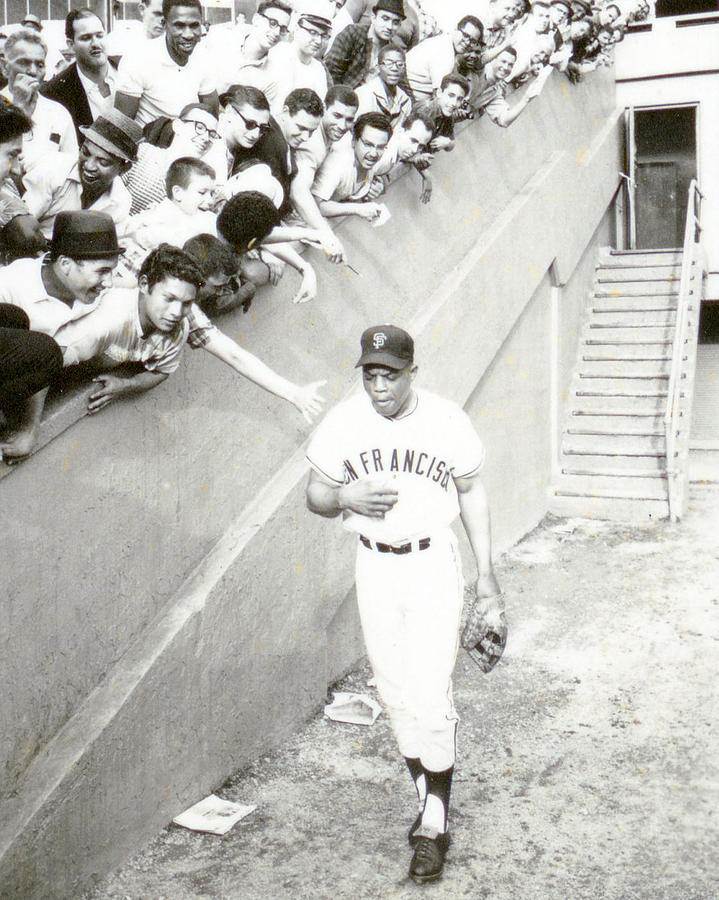 Classic Photograph - Willie Mays by Retro Images Archive