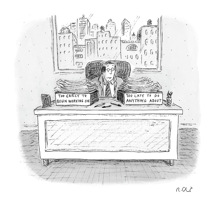 New Yorker December 6th, 2004 Drawing by Roz Chast
