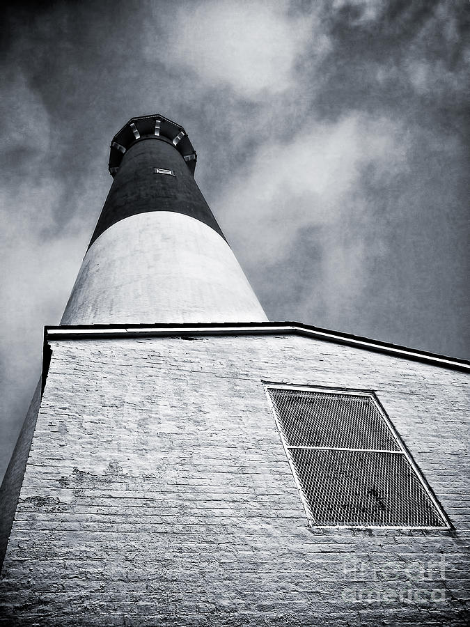 Lbi Photograph - 163 Feet Into The Clouds by Mark Miller