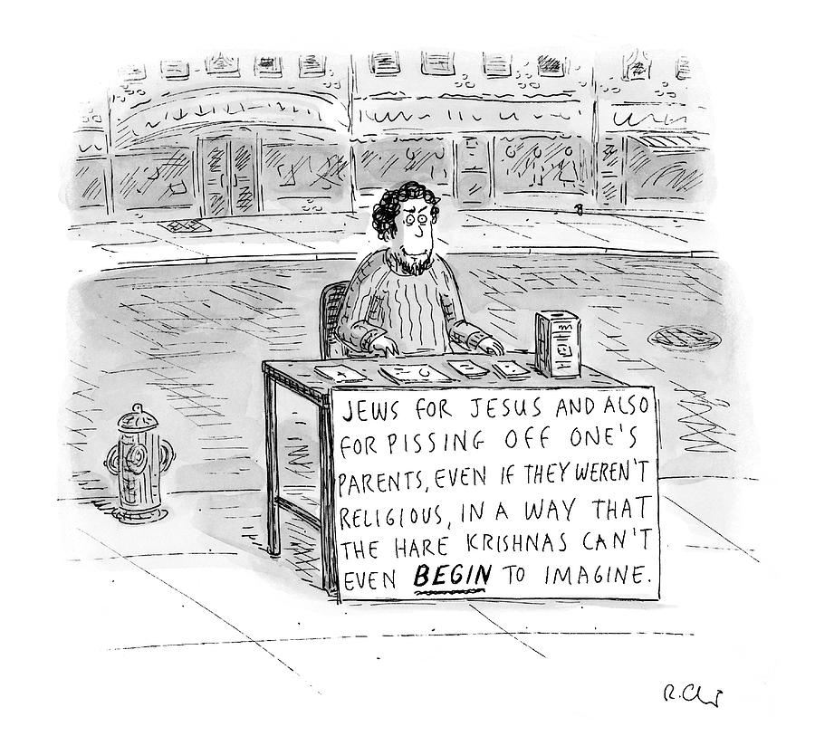 New Yorker October 25th, 2004 Drawing by Roz Chast