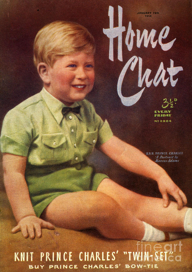 Boys Drawing - 1950s Uk Home Chat Magazine Cover by The Advertising Archives