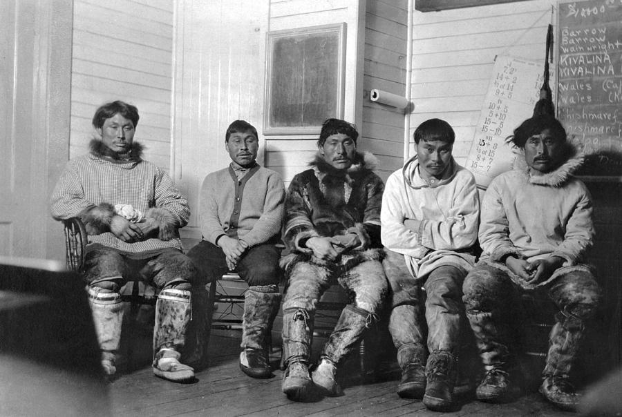 20th Century Photograph - Alaska Eskimos by Granger