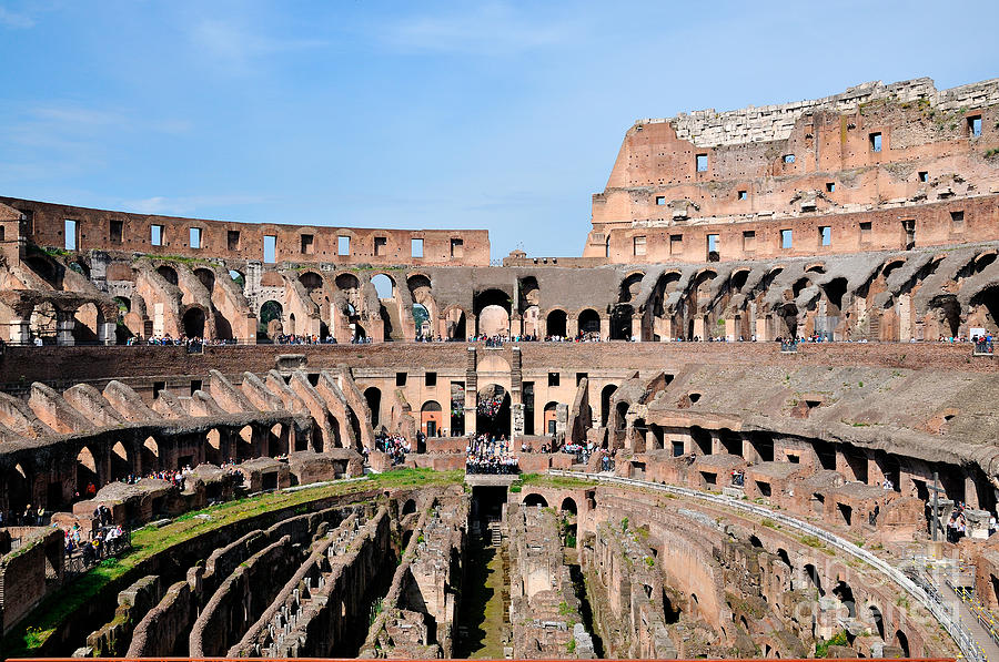 Colosseum Photograph - Colosseum In Rome by George Atsametakis