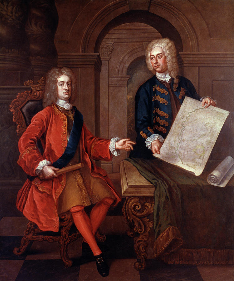 18th Century Painting - John Churchill (1650-1722) by Granger