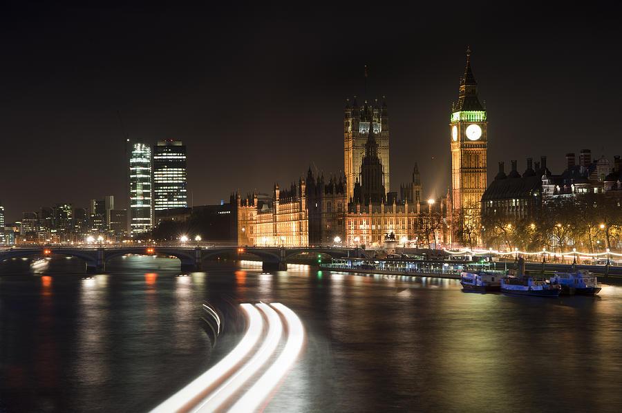 london night skyline cityscape photograph by matthew gibson