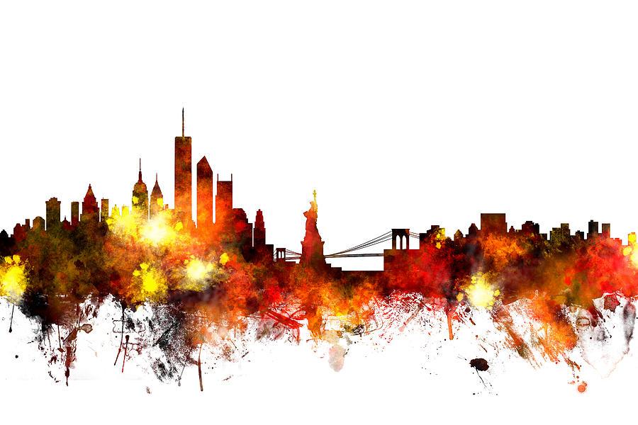 atlanta skyline iphone wallpaper