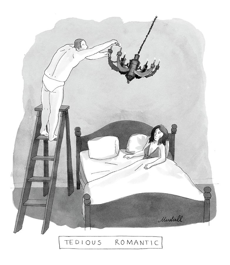 Tedious Romantic Drawing by Marshall Hopkins
