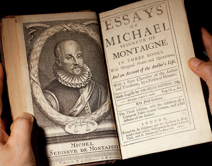 1700 michel de montaigne essays portrait photograph by paul d