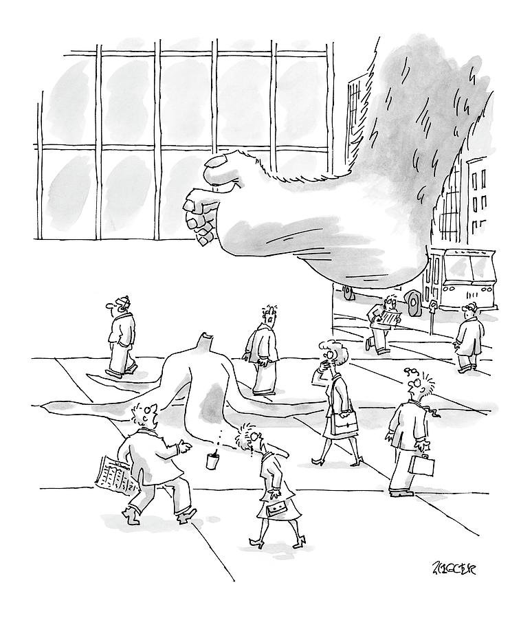 New Yorker October 18th, 2004 Drawing by Jack Ziegler
