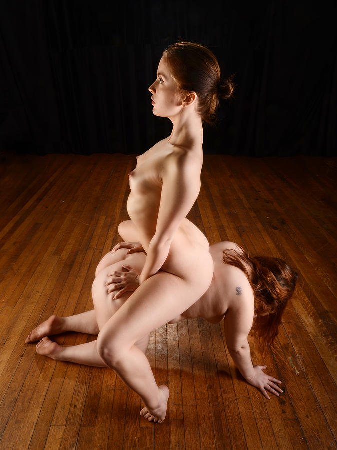 Nude submissive
