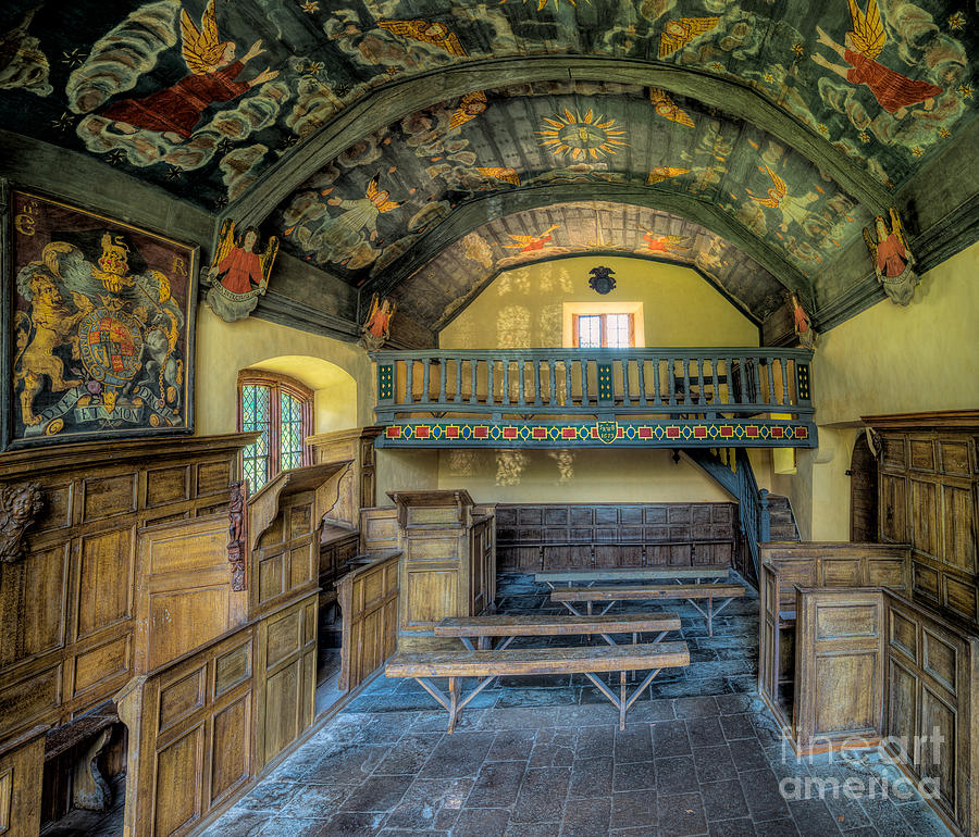 Chapel Photograph - 17th Century Chapel by Adrian Evans