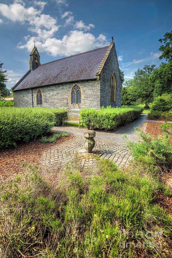 Chapel Photograph - 17th Century Church by Adrian Evans