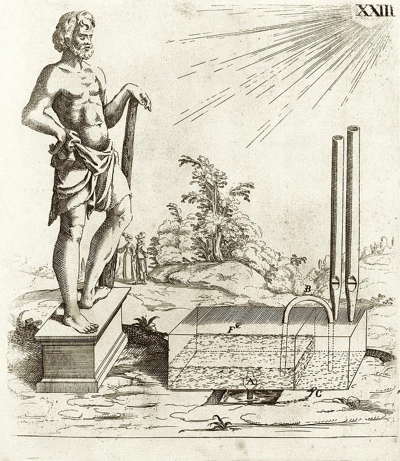 1600s Photograph - 17th Century Solar-powered Sound Machine by Stephen A. Schwarzman Building/rare Books Division/new York Public Library