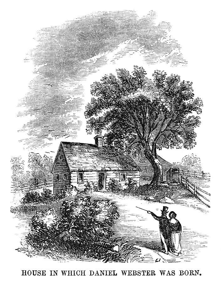 1854 Painting - Daniel Webster (1782-1852) by Granger