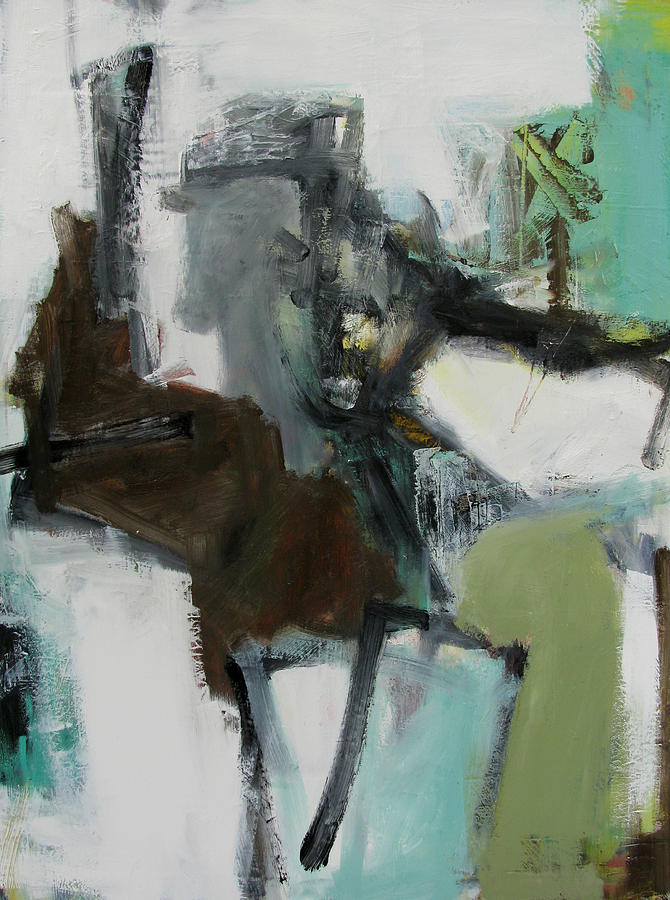 Abstract Painting - Figure by Fred Smilde