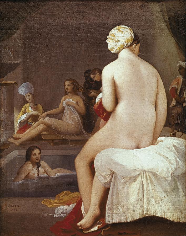Vertical Photograph - Ingres, Jean-auguste-dominique by Everett