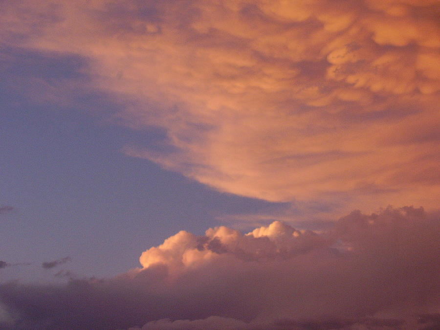 Clouds Photograph - Montana Clouds by Yvette Pichette