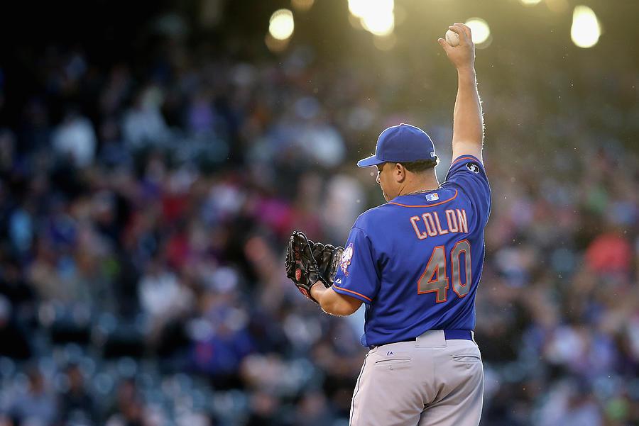 New York Mets V Colorado Rockies 18 Photograph by Doug Pensinger