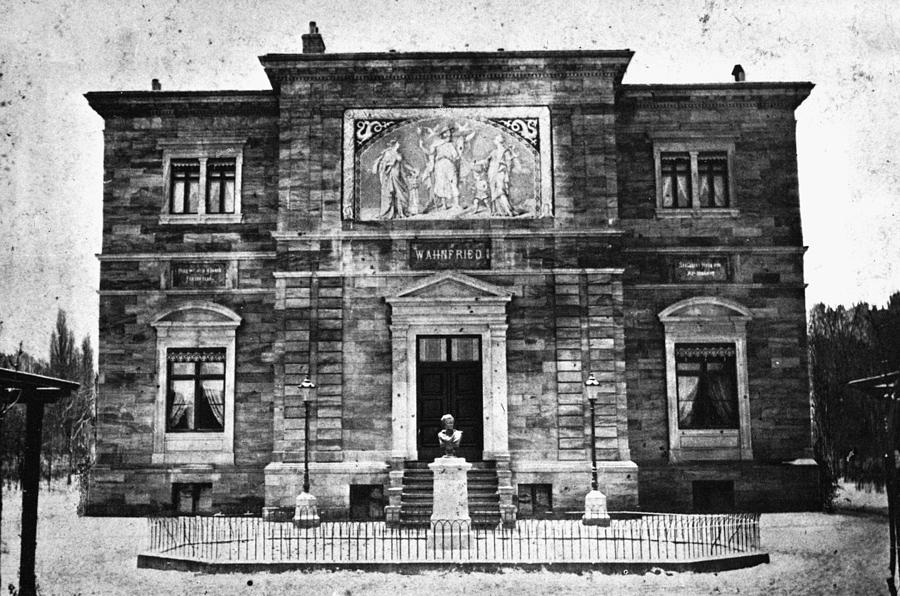 1874 Photograph - Richard Wagner (1813-1883) by Granger