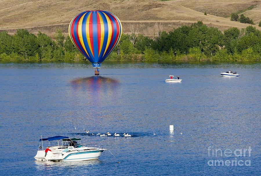 Rocky Mountain Balloon Festival Photograph