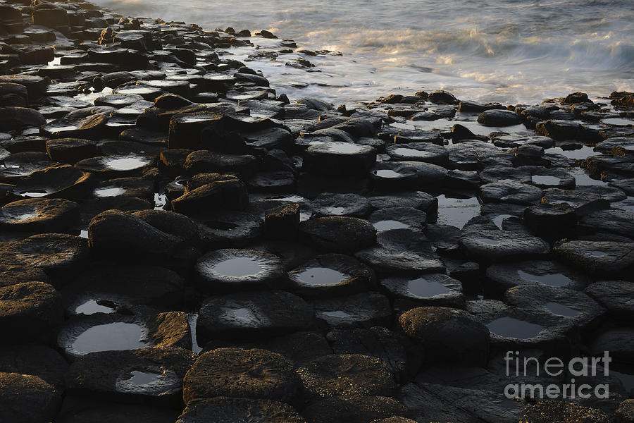 Landscape Photograph - The Giants Causeway by John Shaw