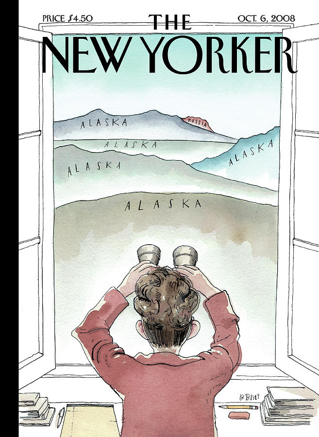 A Room With A View Painting by Barry Blitt